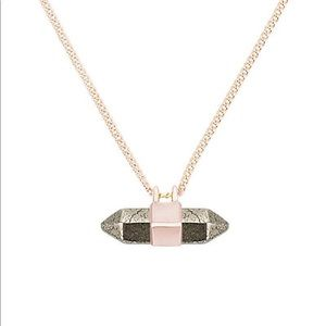 Kendra Scott Rose Gold Amanda Necklace
